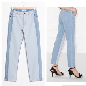 Paris Atelier & other stories mom jeans 26